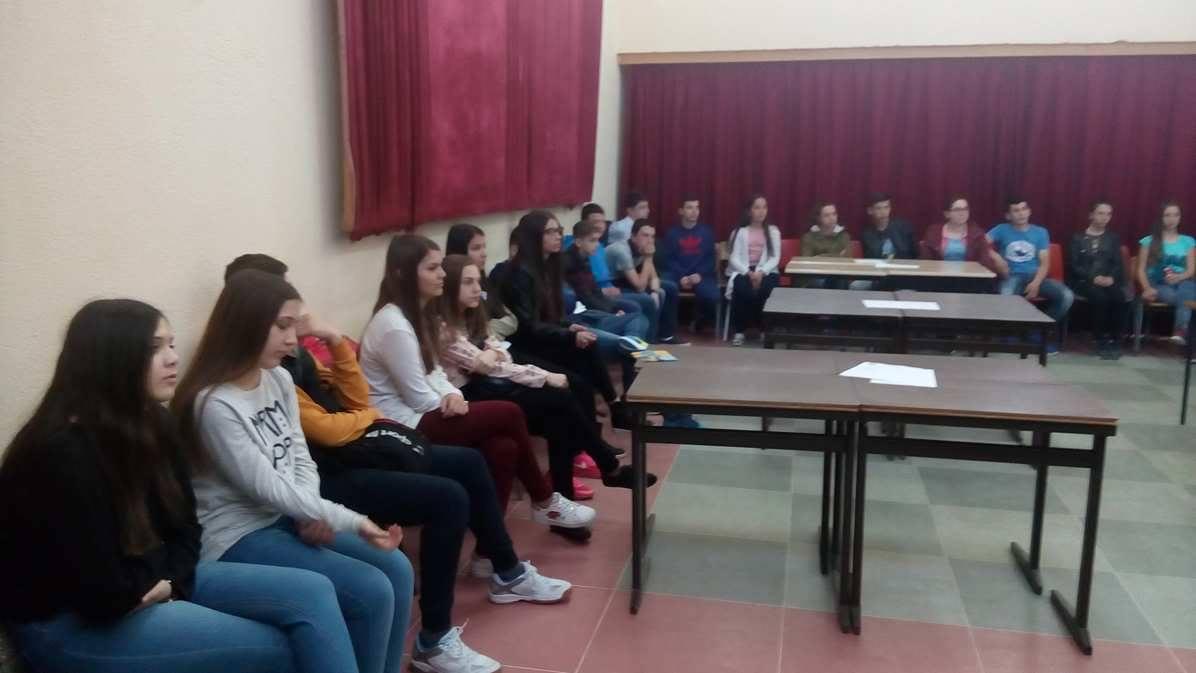 Одржани повеќе работилници на тема инклузија со учениците од деветто одделение