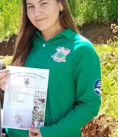 Ученичката Aна Илиева освои второ место во категоријата Маркетинг план на МАССУМ 2020
