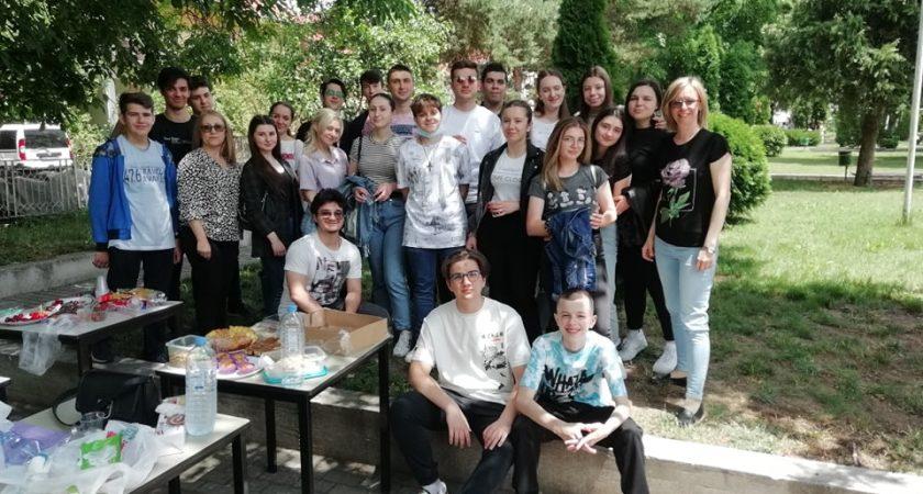 Дел од завршните активности на учениците – учесници во овогодишниот проект Access